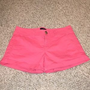 American Eagle Peach Midi Shorts